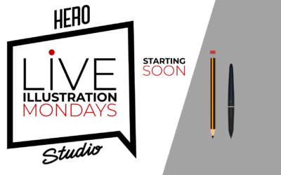 Live illustration Mondays